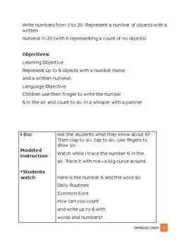 Go Math Kindergarten Chapter 3