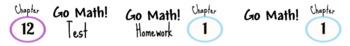 Go Math! Labels TEMPLATE