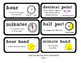 Go Math Lesson Plans  Unit 7 - Word Wall Cards - EDITABLE - Grade 2