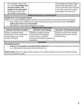 Go Math Chapter 1 Lesson Plans, Grade 2