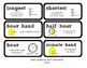 Go Math Lesson Plans Unit 9 - Word Wall Cards - EDITABLE - Grade 1