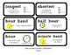 Go Math Lesson Plans Unit 9 - Word Wall Cards - EDITABLE -