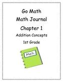 Go Math! Math Journal Activities for Grade 1, Chapter 1