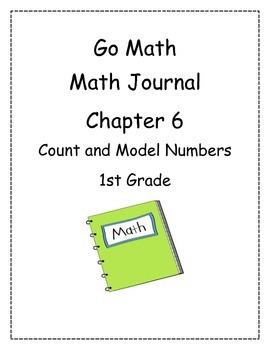 Go Math! Math Journal Activities for Grade 1, Chapter 6