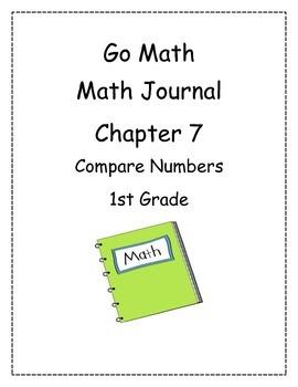 Go Math! Math Journal Activities for Grade 1, Chapter 7