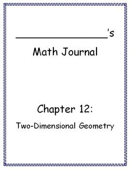 Go Math - Math Journal - Chapter 12