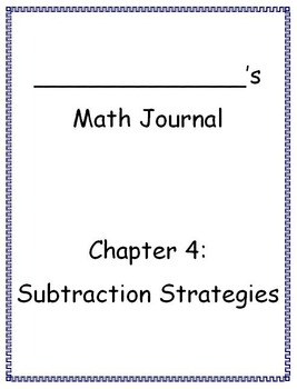 Go Math - Math Journal - Chapter 4