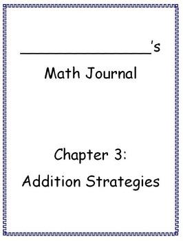 Go Math - Math Journal - Chapter 3