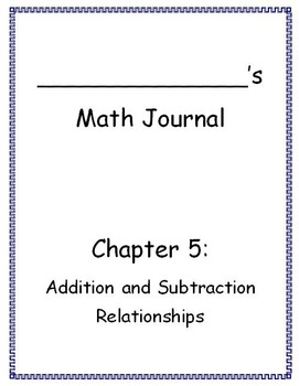 Go Math - Math Journal - Chapter 5