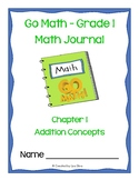 Go Math! Math Journal - Grade 1 - Chapter 1