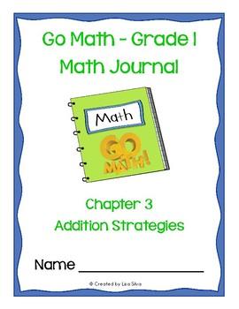Go Math! Math Journal - Grade 1 - Chapter 3