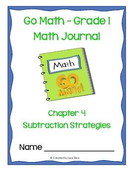 Go Math! Math Journal - Grade 1 - Chapter 4