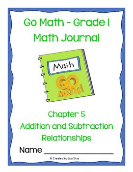 Go Math! Math Journal - Grade 1 - Chapter 5