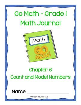 Go Math! Math Journal - Grade 1 - Chapter 6
