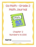 Go Math! Math Journal - Grade 2 - Chapter 2