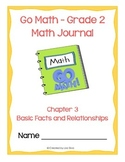 Go Math! Math Journal - Grade 2 - Chapter 3