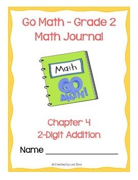 Go Math! Math Journal - Grade 2 - Chapter 4