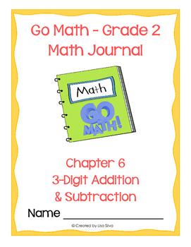 Go Math! Math Journal - Grade 2 - Chapter 6