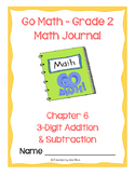 Go Math! Math Journal - Grade 2 - Chapter 6