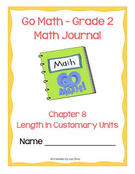 Go Math! Math Journal - Grade 2 - Chapter 8