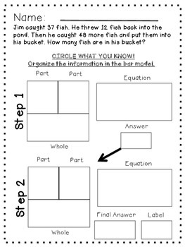 Go Math Multi-Step Problem Solving Practice Pages 2.OA.1