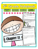 Go Math! Notebook 5th Grade CC and I Can Statements Chapter 11