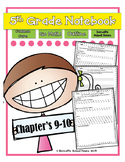 Go Math! Notebook 5th Grade CC and I Can Statements Chapter 9 & 10