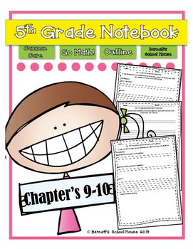 Go Math! Notebook 5th Grade CC and I Can Statements Chapte