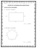 Go Math Practice - 3rd Grade Chapter 11 - Perimeter and Area