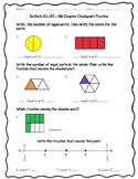 Go Math Practice - 3rd Grade Chapter 8 - Understand Fractions