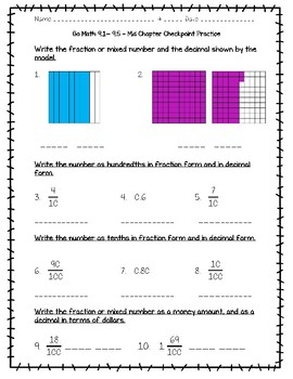 Go Math Lesson 9 1 5th Grade Answers