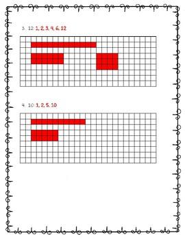 Go Math Practice - 5.1 - Model Factors Freebie!