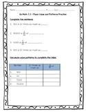 Go Math Practice - 5th Grade Ch 1 - Place Value, Multiplication, and Expressions
