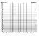 Go Math Pre/Post Test Data Form Grade 4- CCLS