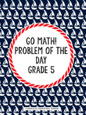 Go Math Problem of the Day (Grade 5)