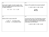 Go Math! Problem of the day 3rd grade