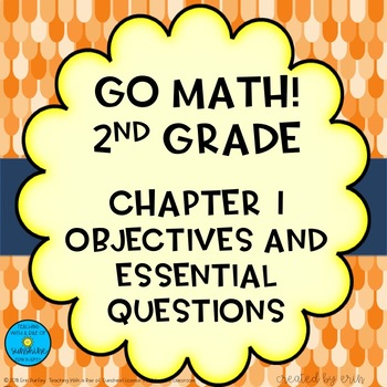 Go Math! Second Grade Chapter 1 Objectives