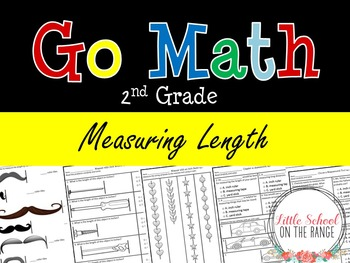 Go Math Second Grade: Chapter 16 Supplement - Measuring Length