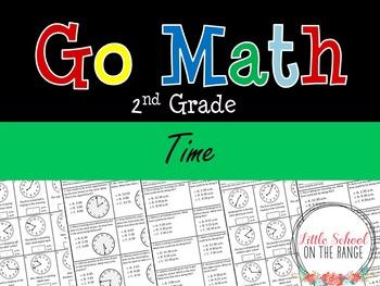 Go Math Second Grade: Chapter 18 Supplement - Time
