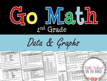 Go Math Second Grade: Chapter 19 Supplement - Data and Graphs
