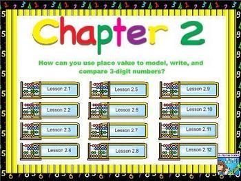 Go Math - Second Grade - Chapter 2