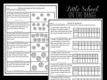Go Math Second Grade: Chapter 20 Supplement - Financial Literacy