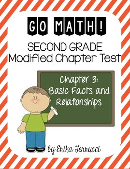 Modified GoMath Test - Grade 2, Chapter 3