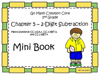 Go Math Second Grade Chapter 5 Mini Book By First4readers Tpt