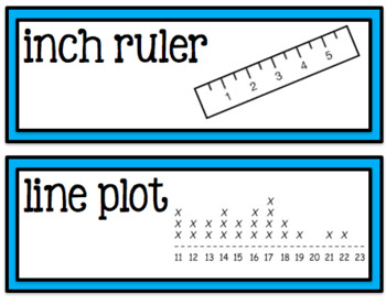Go Math Chapter 8 Second Grade Vocabulary Cards