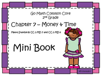 Go Math Second Grade Chapter Seven Mini Book By First4readers Tpt