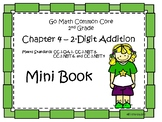 Go Math Second Grade Chatper Four Mini Book