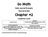 Go Math! Second Grade Journals-Chapter 2