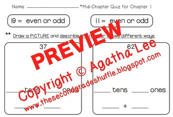 Go Math! Second Grade Study Pack for Chapter 1- Number Concepts