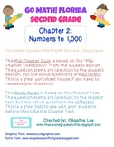 Go Math! Second Grade Study Pack for Chapter 2- Numbers to 1,000